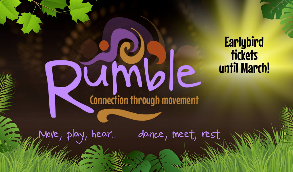 Rumble dance festival in the UK