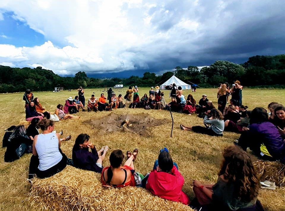 women-only festivals and retreats